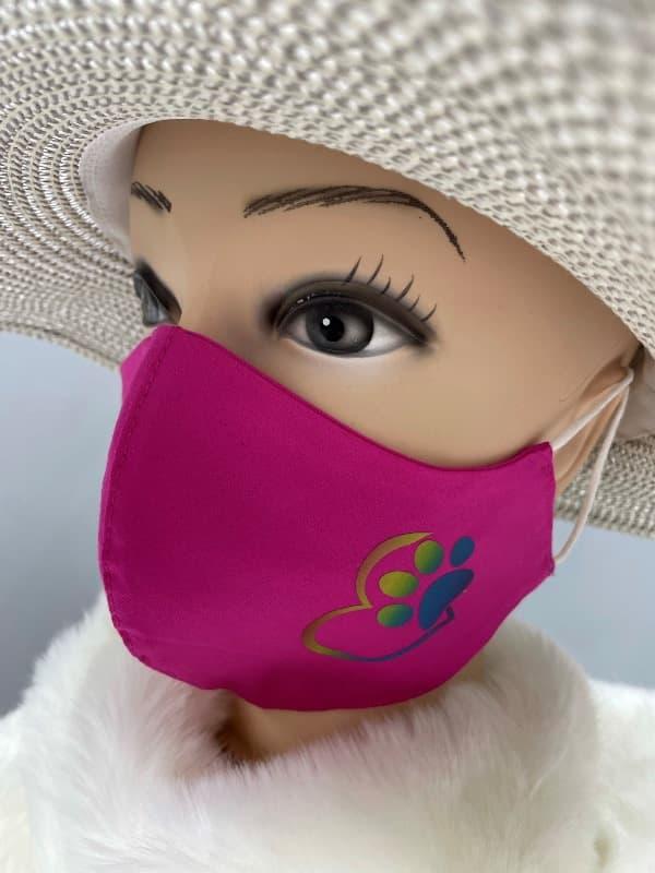 Pralne maske z odsevnimi nalepkami