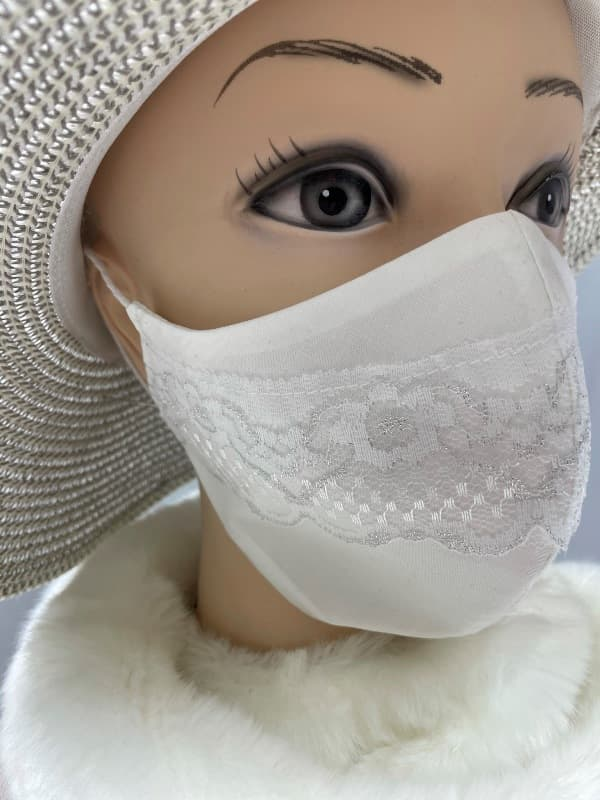 Pralne maske s čipko