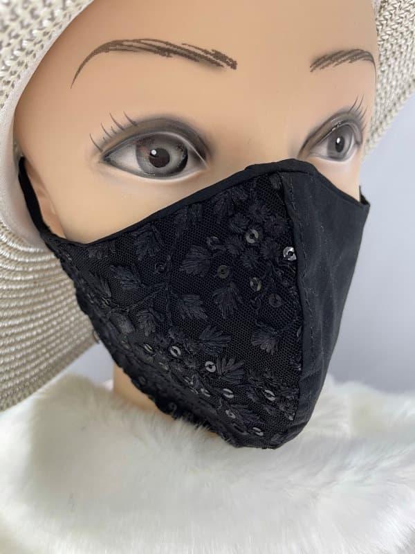 Pralne maske s čipko in regulacijo