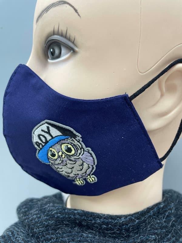 Pralne maske z vezenimi našitki
